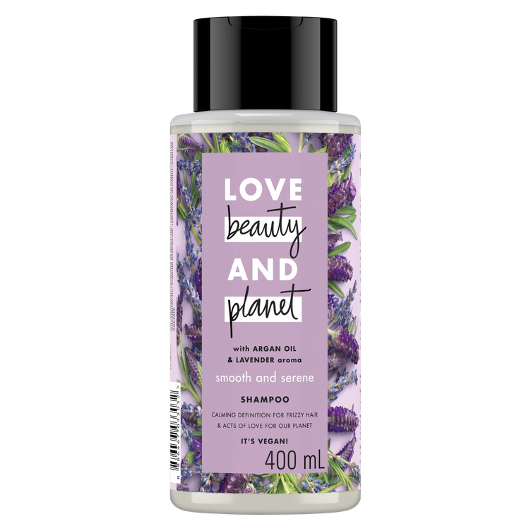 Love Beauty and Planet Argan Oil & Lavender Smooth and Serene Shampoo