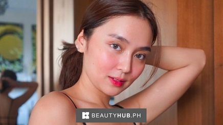 Kathryn Bernardo with little makeup on her face