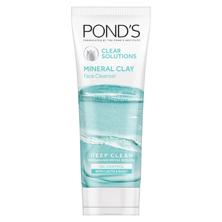 Pond's Mineral Clay Facial Foam Clear Solutions