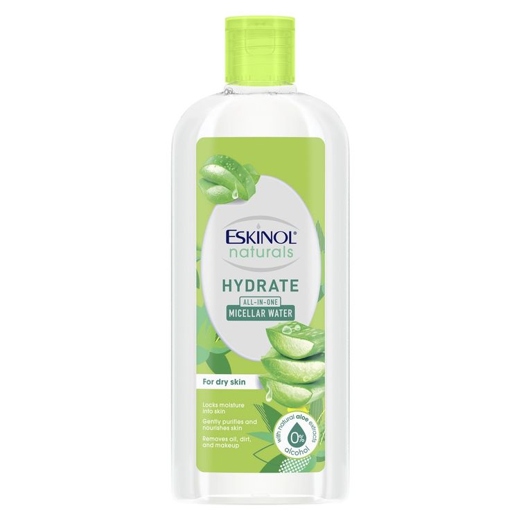 Eskinol Naturals Micellar Water Hydrate with Natural Aloe Extracts