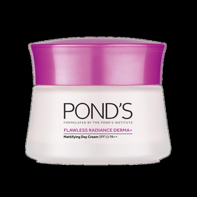 pond's flawless radiance derma mattifying day cream