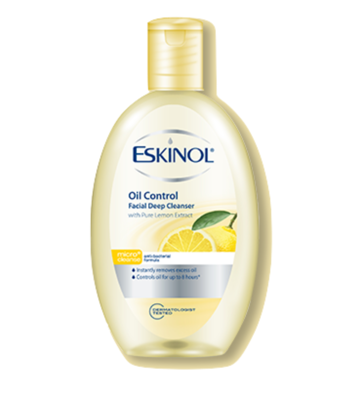 Eskinol Facial Deep Cleanser Oil Control With Pure Lemon Extract