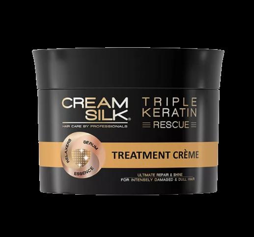 Cream Silk Triple Keratin Rescue Ultimate Repair & Shine Treatment Crème