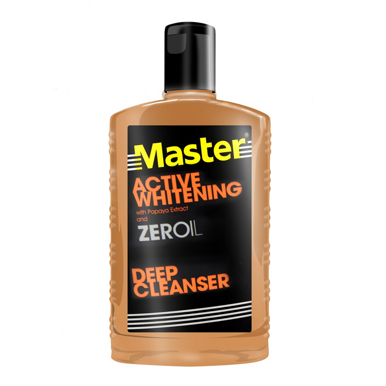 Master Deep Cleanser Oil Control Max With Zero Oil