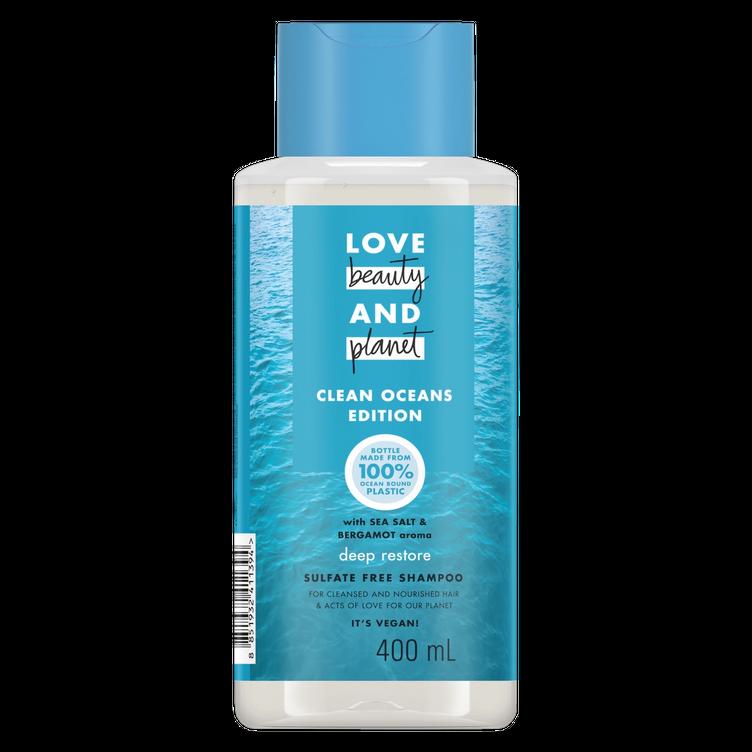 Love Beauty and Planet Sea Salt & Bergamot Deep Restore Shampoo