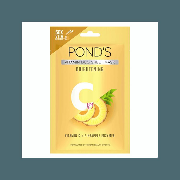 POND's-Vitamin-Duo-Brightening-Sheet-Mask