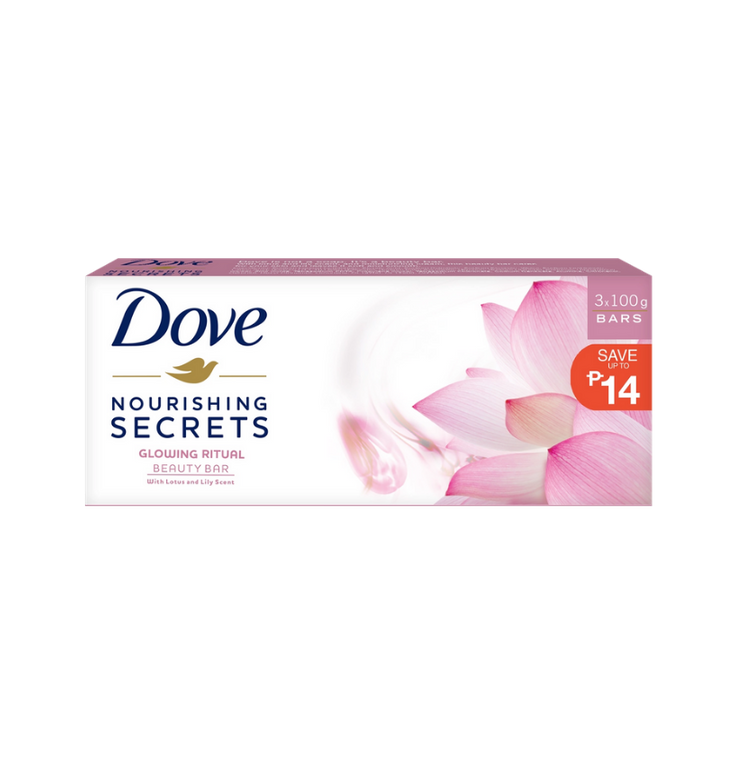 Dove Bar Glowing Lotus