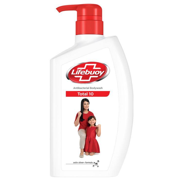 Lifebuoy Antibacterial Body Wash Total 10