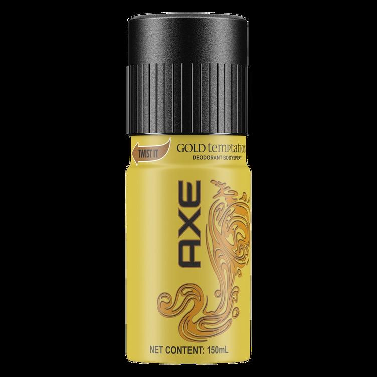axe deo bodyspray gold temptation