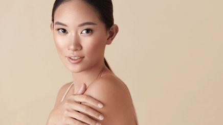 Woman with beautiful skin.