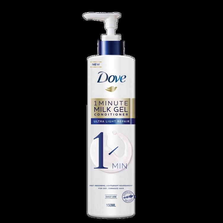 Dove Ultra Light Repair 1 Minute Milk Gel Conditioner