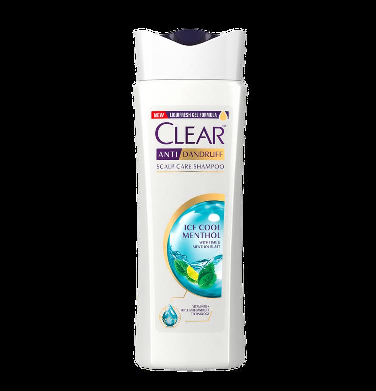 CLEAR Ice Cool Menthol Anti-Dandruff Shampoo