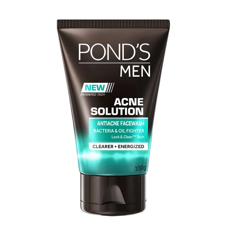 Pond's Men Facial Wash Acne Solution