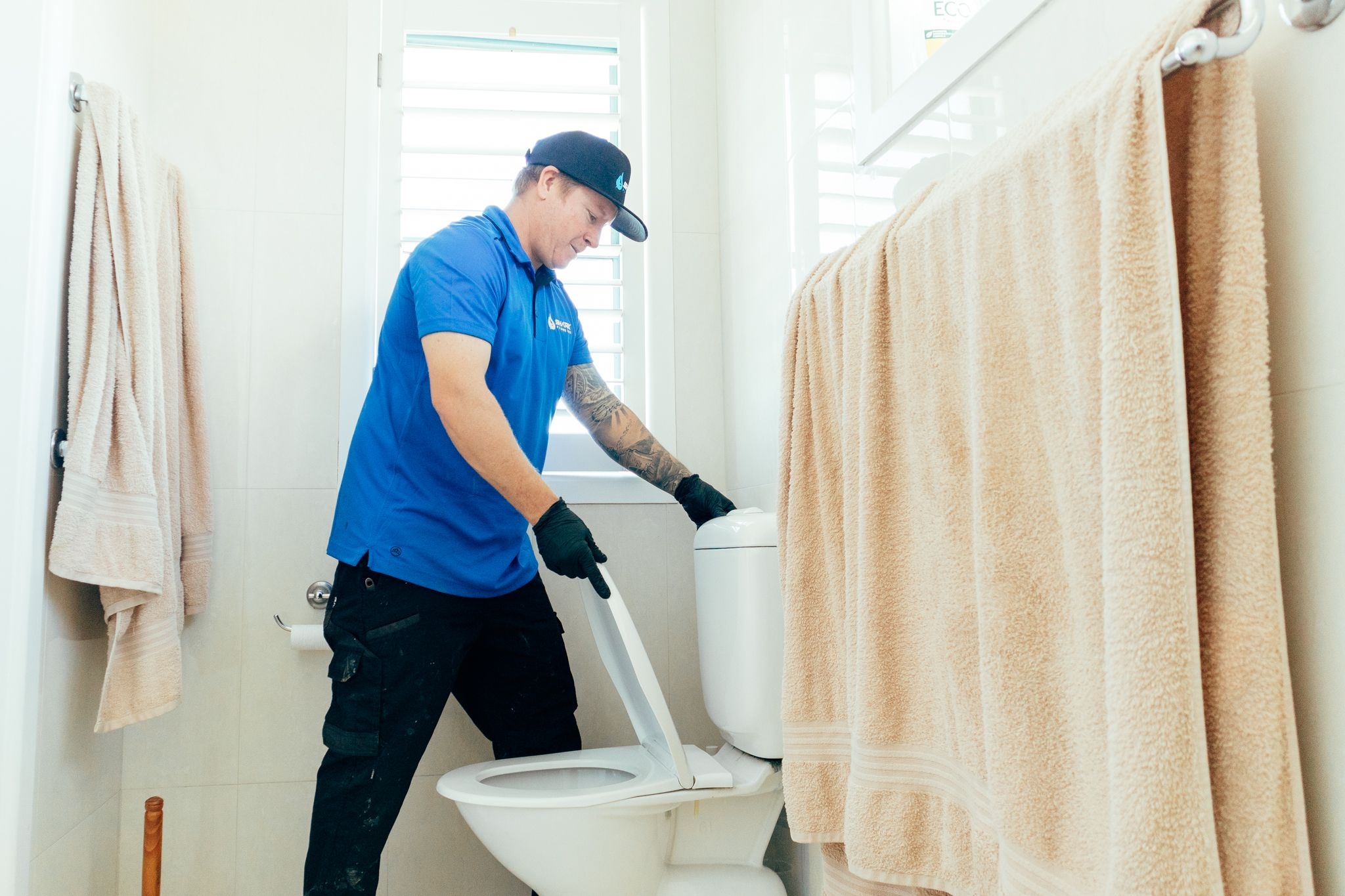 Gold Coast Plumber In Action