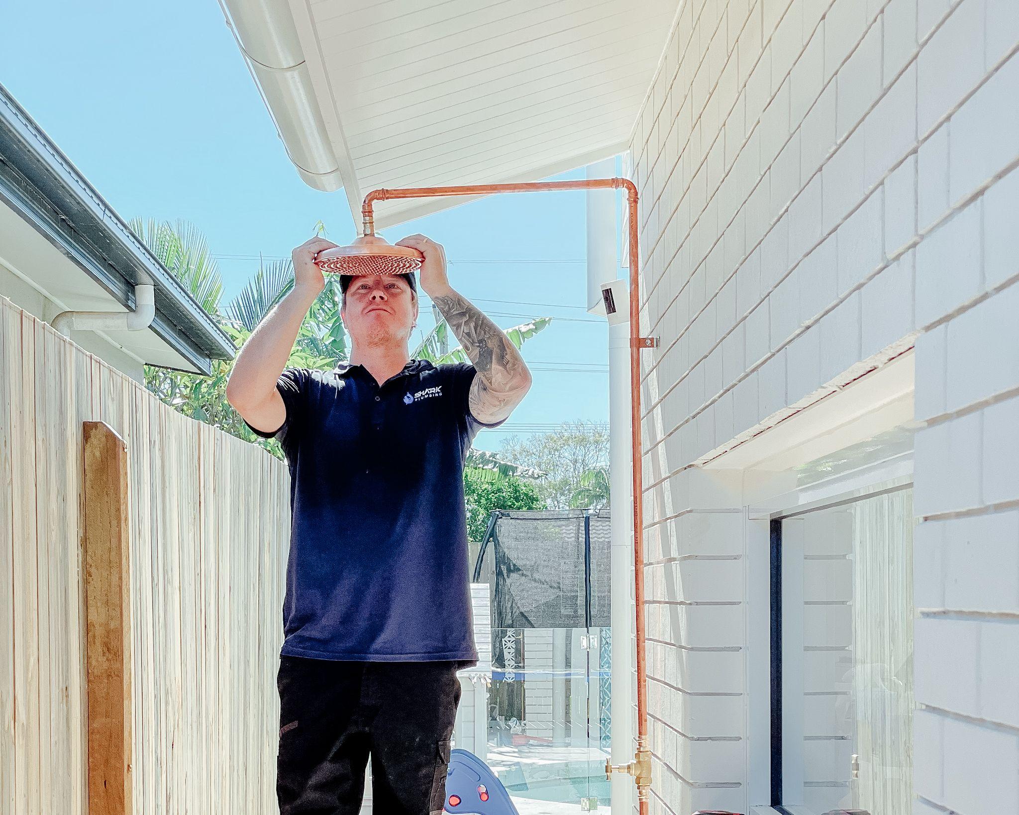 Outdoor Shower Installation Gold Coast