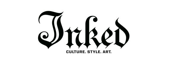 Inked press logo ephemeral tattoo