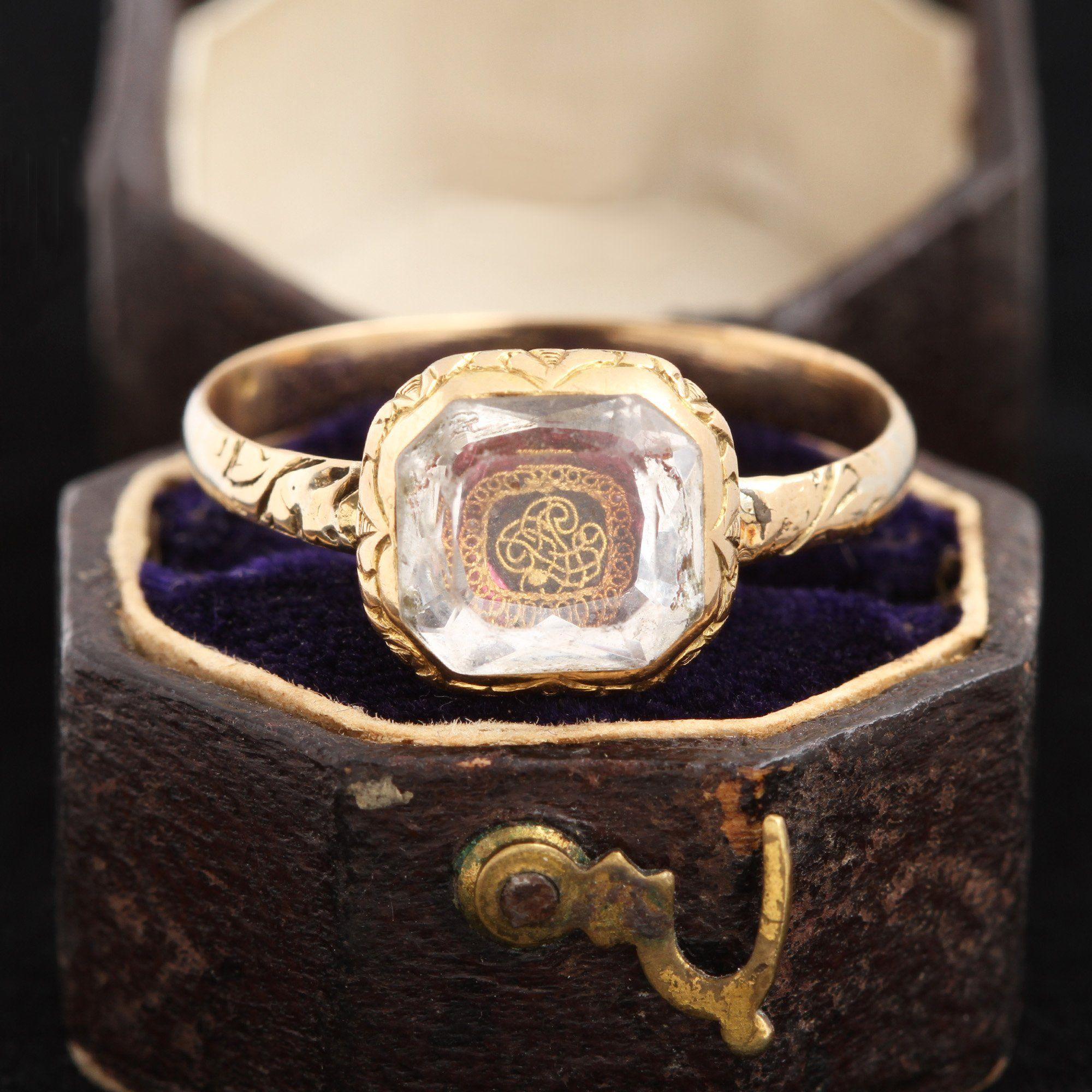 Stuart Crystal Ring