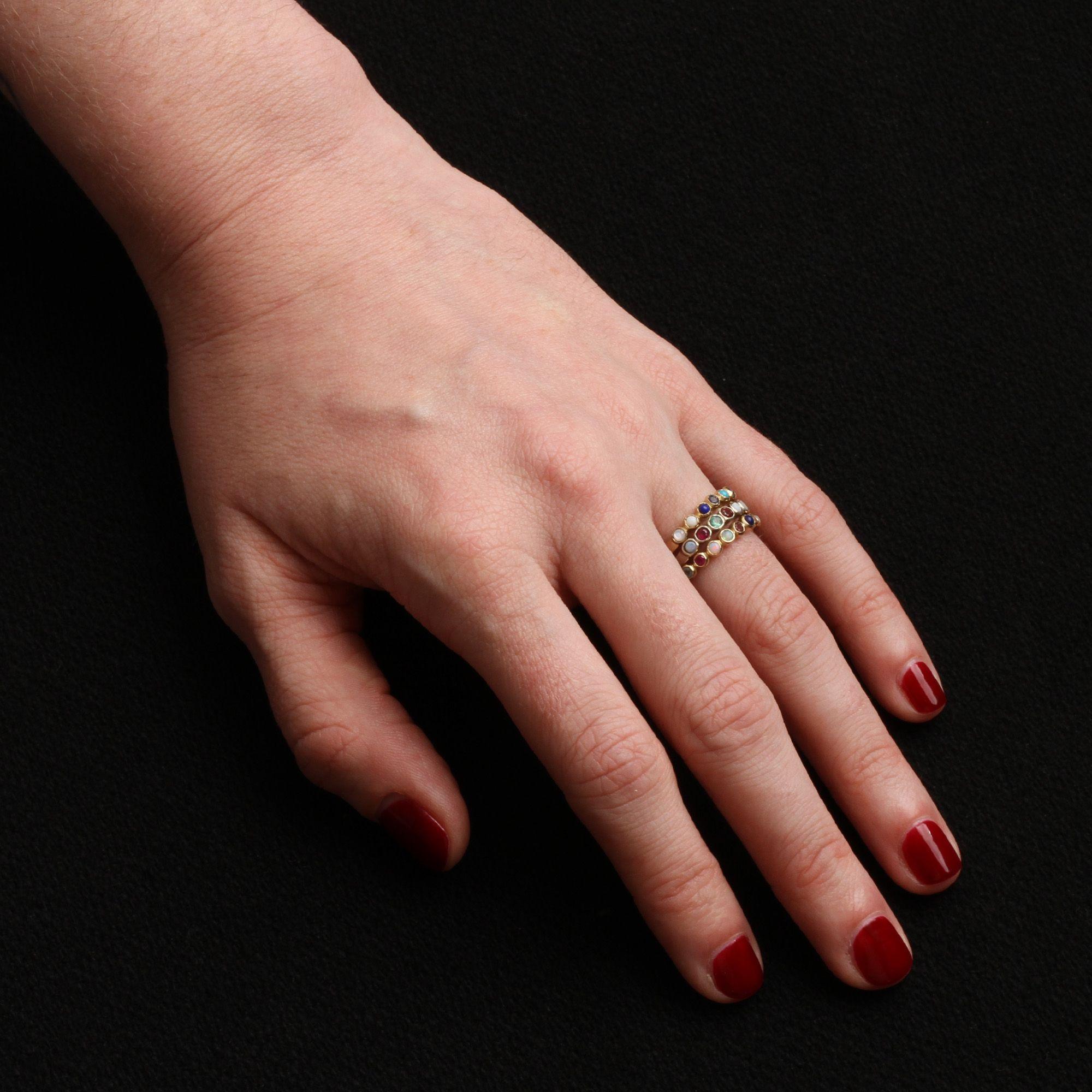 Secret Message Acrostic Ring