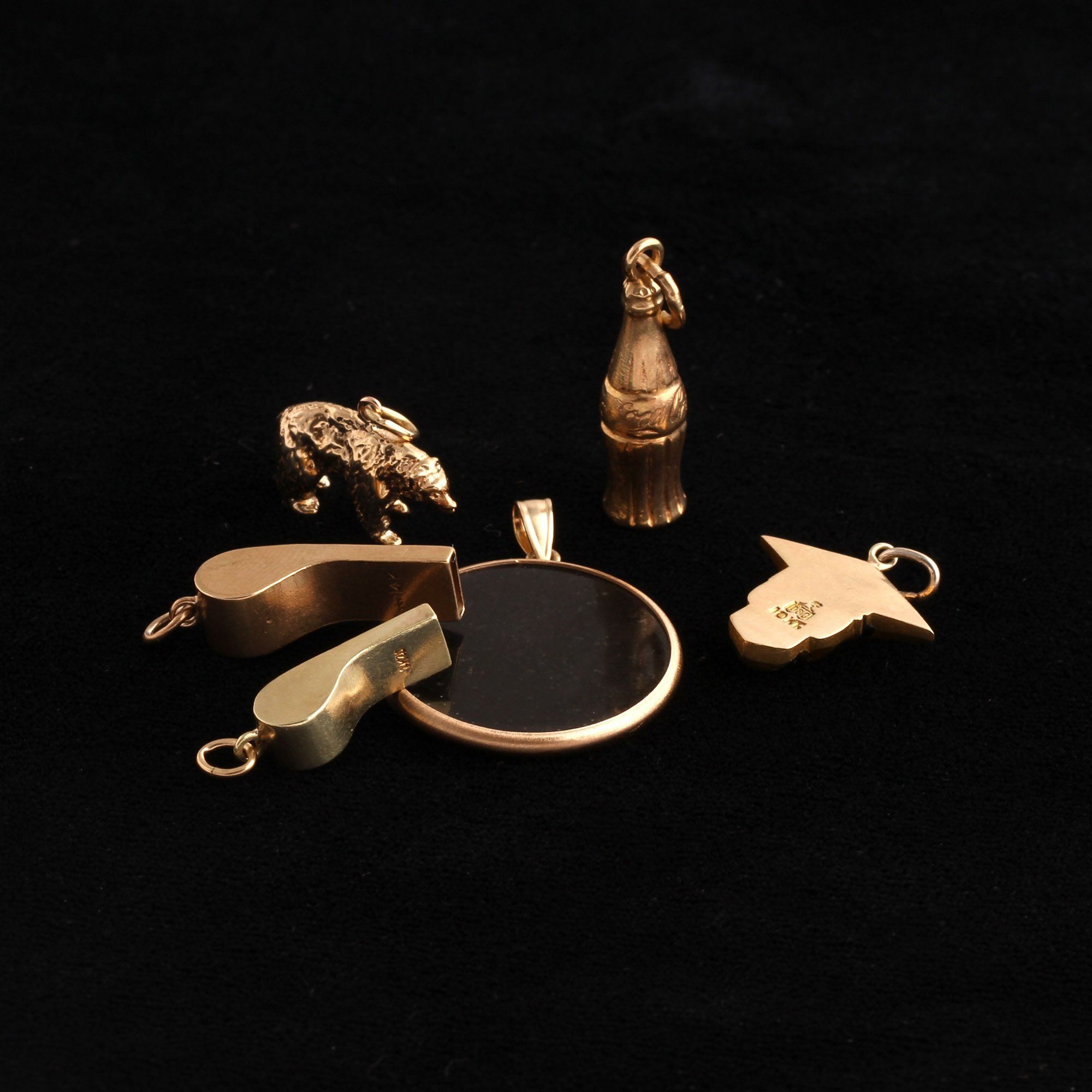 Vintage Gold Charms (Various)