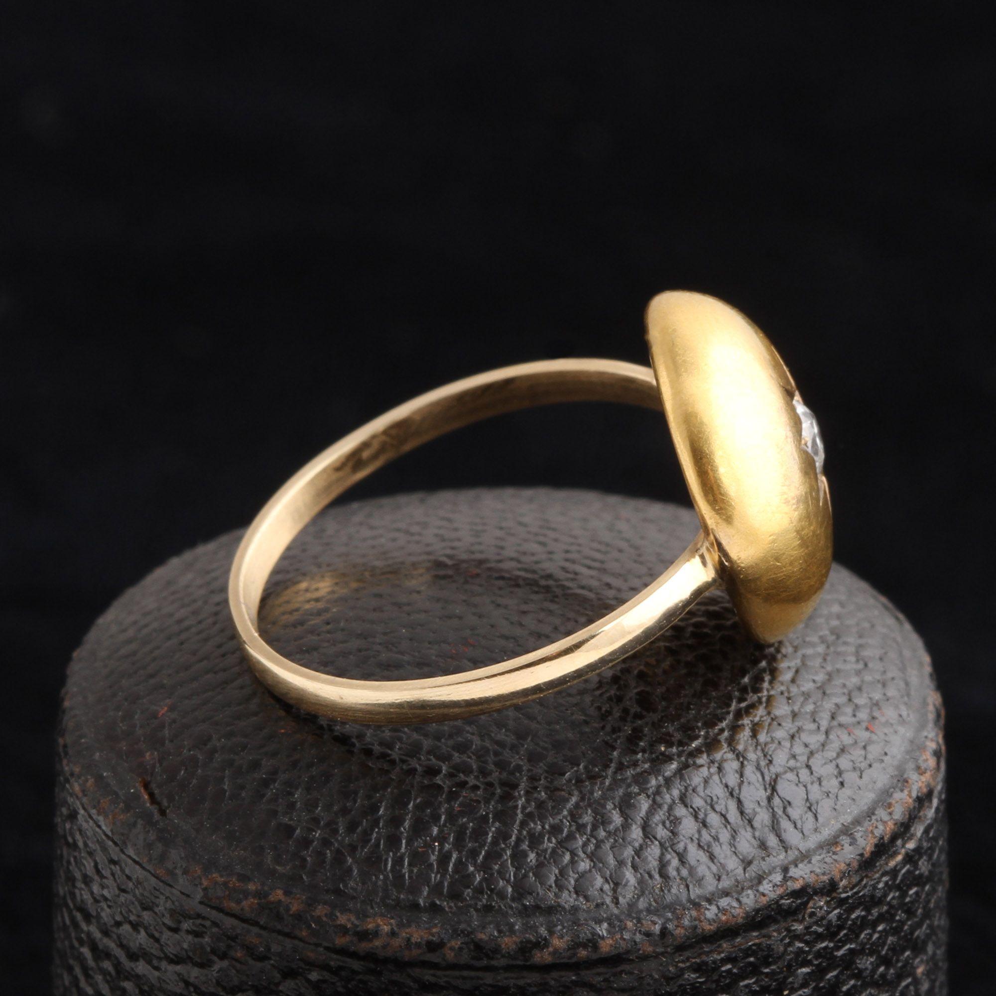 Victorian Diamond Dome Ring