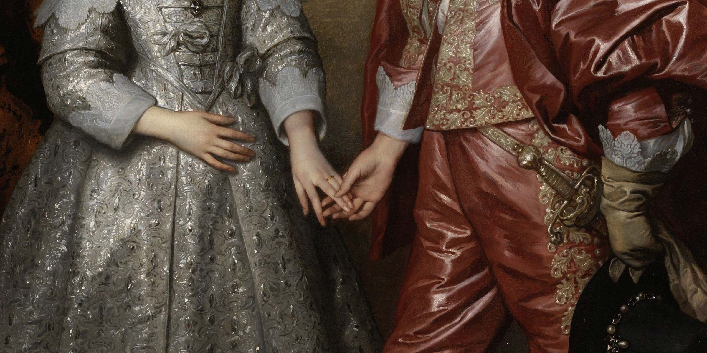 Anthony van Dyck, William II and His Bride, Mary Stuart, 1641.
