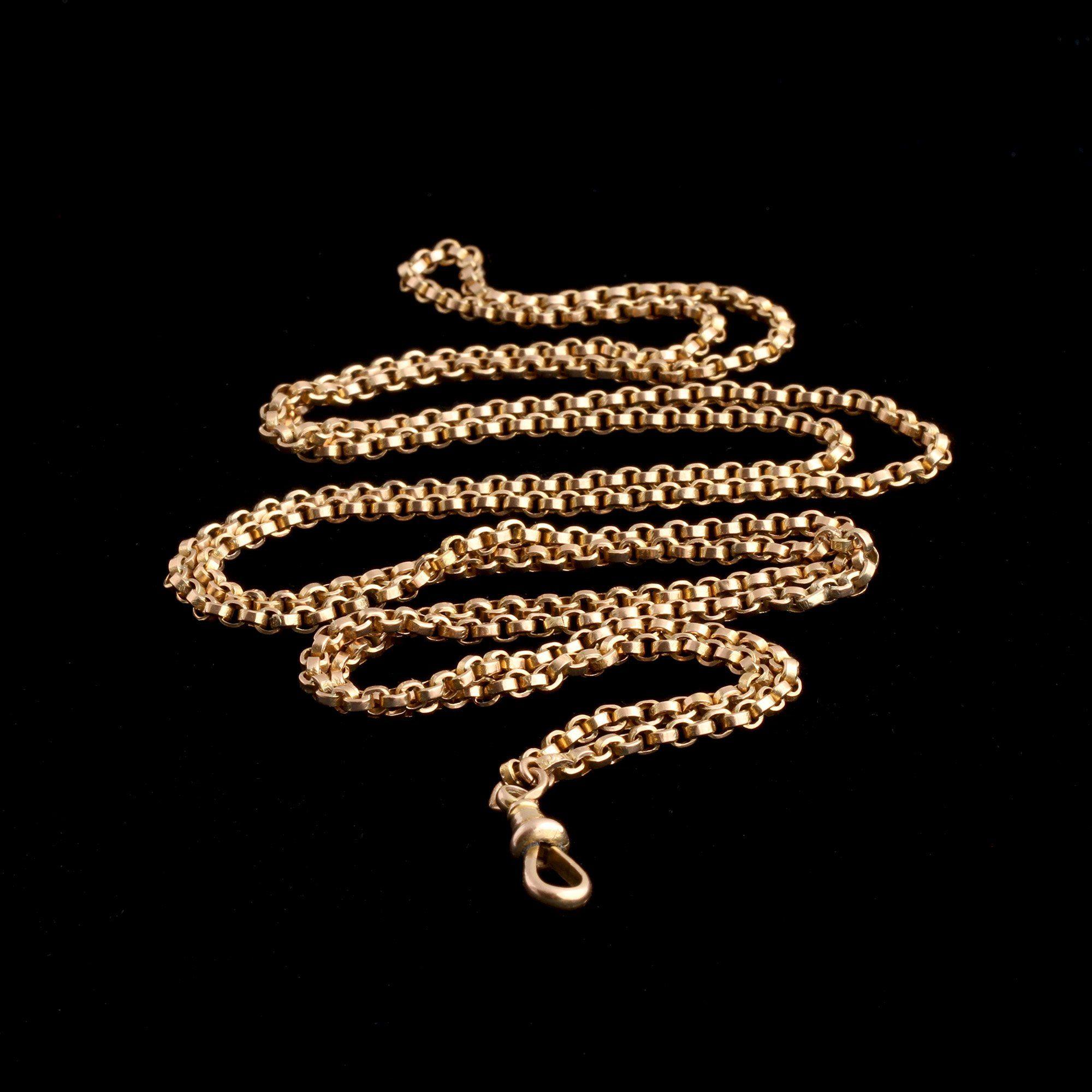 """Victorian 40"""" Guard Chain"""