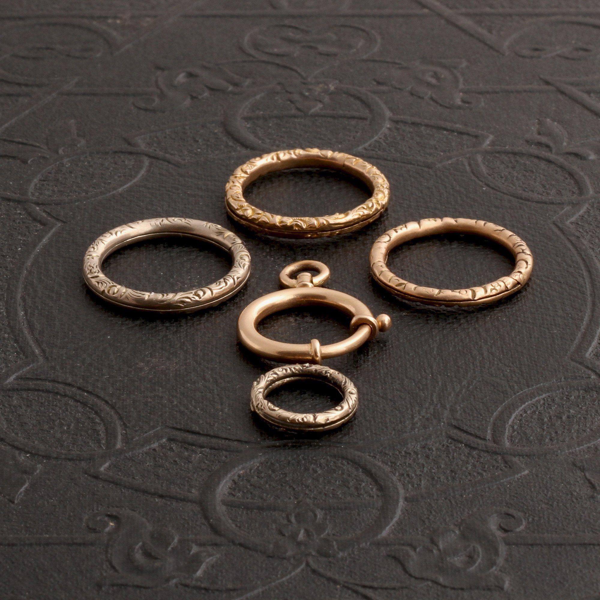 Victorian Split & Bolt Rings