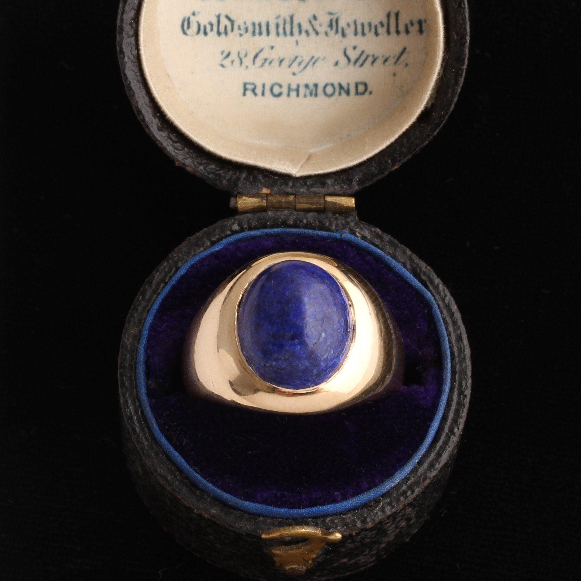 Edwardian Lapis Ring