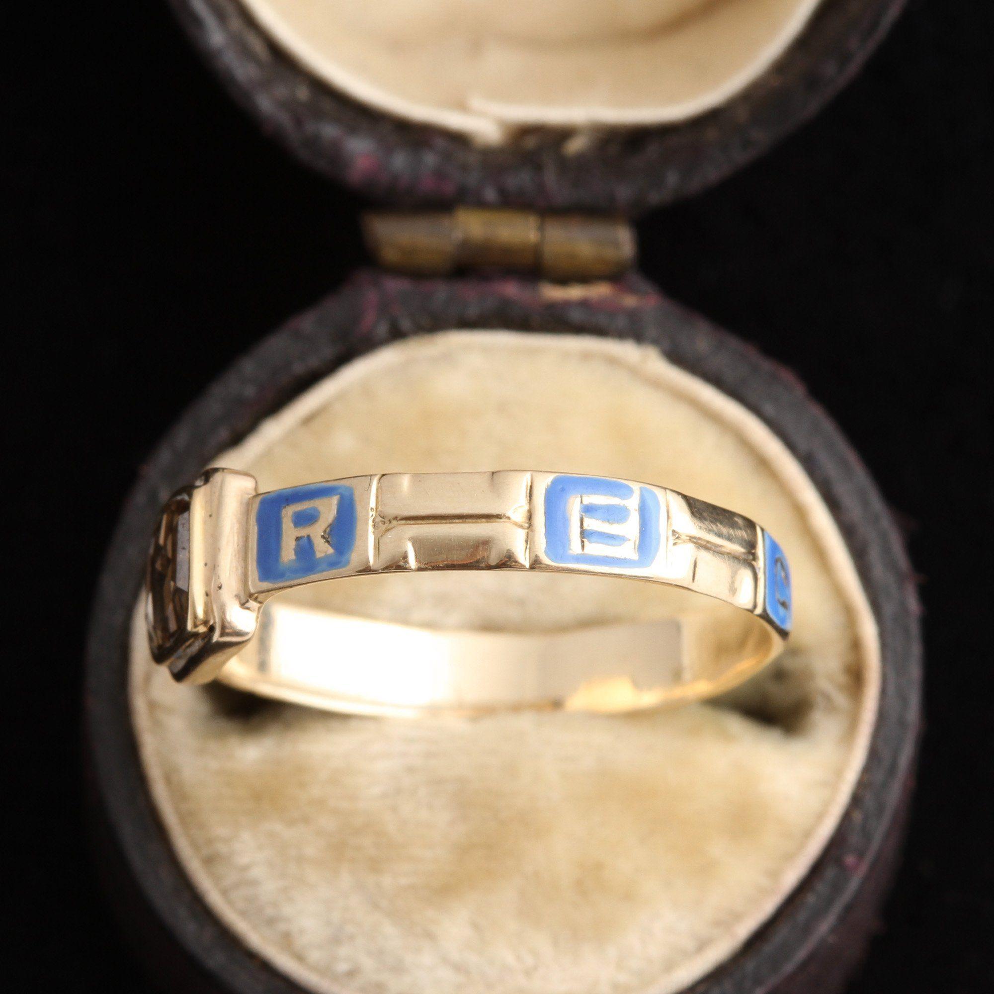 """Georgian Rose Cut Diamond """"Regard"""" Ring"""