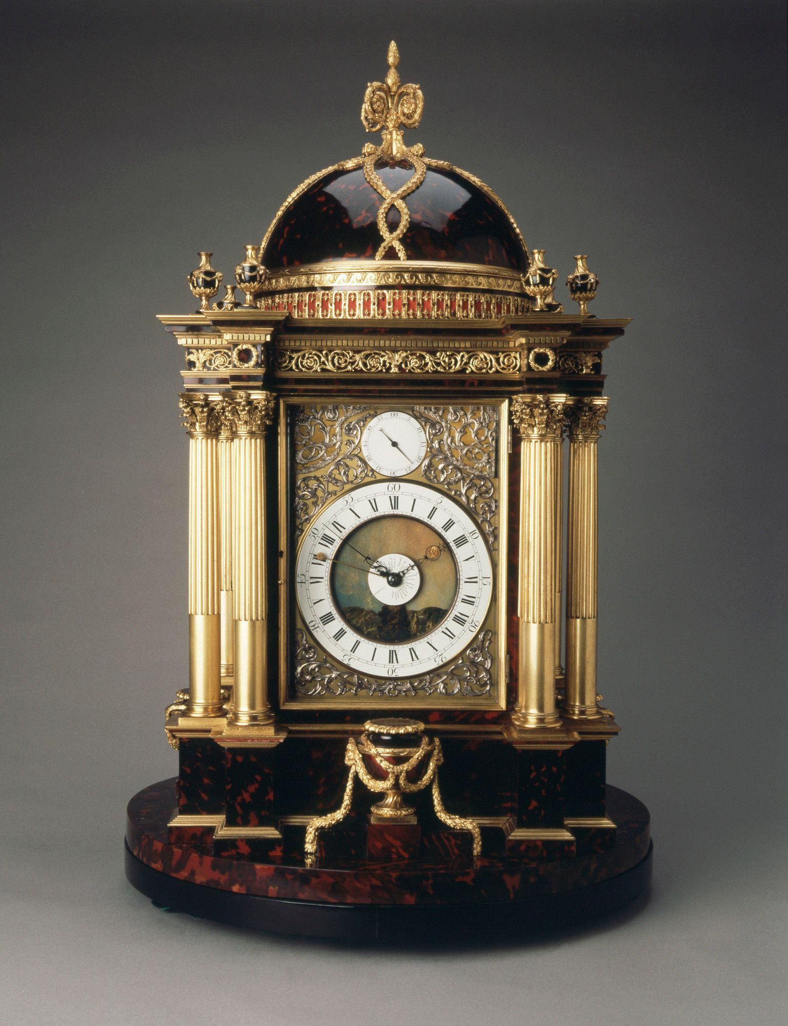 A clock made by Christopher Pinchbeck, from the Royal Collection Trust.