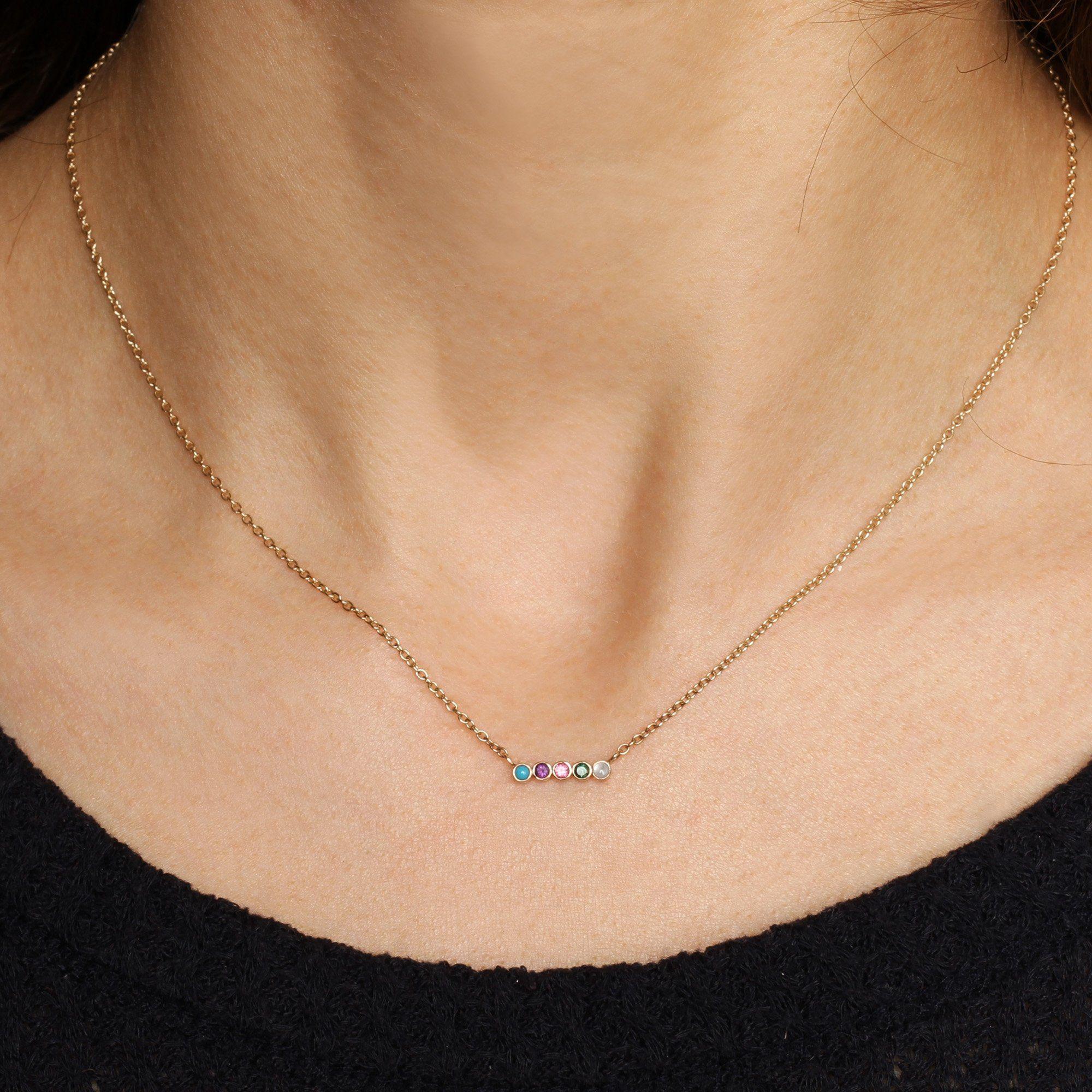 Secret Message Acrostic Necklace