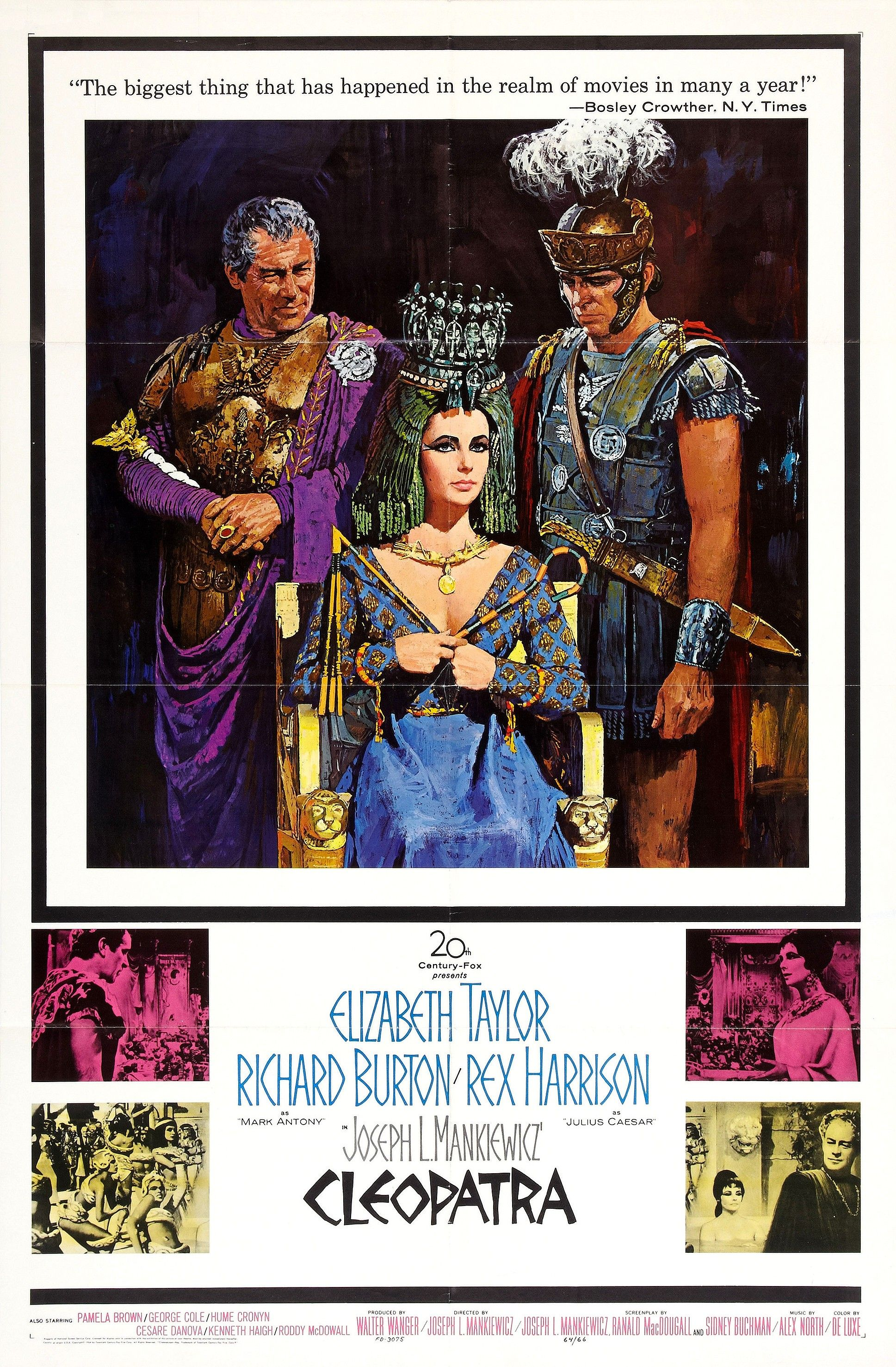 Theatrical poster for Cleopatra (1963)