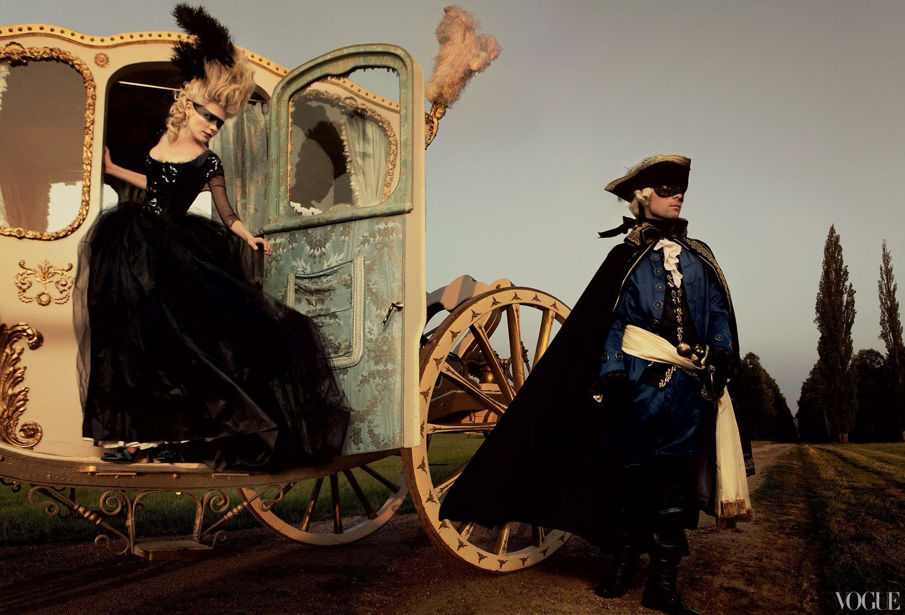 "Still from Sofia Coppola's 2006 movie ""Marie Antoinette."""