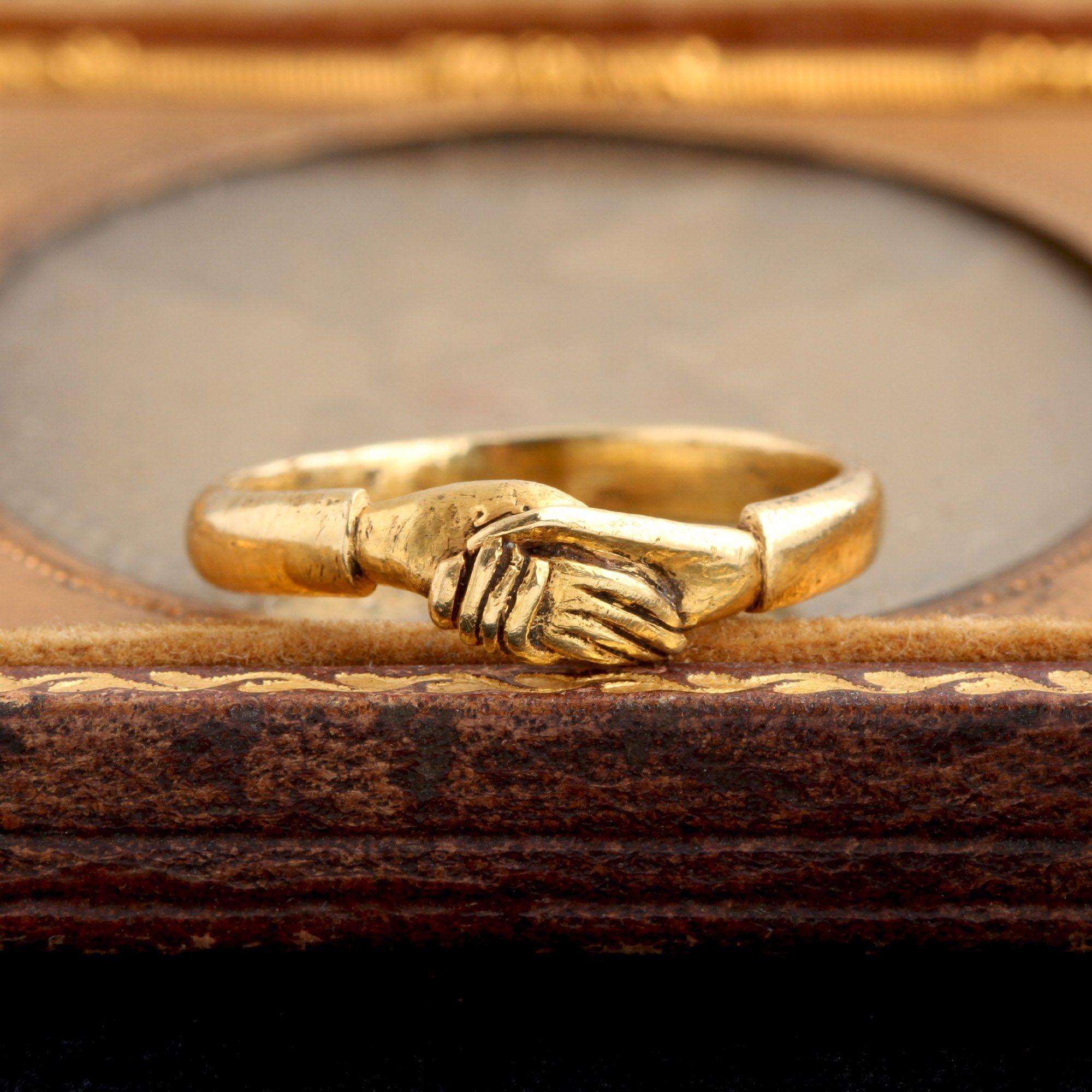 Georgian Fede Ring