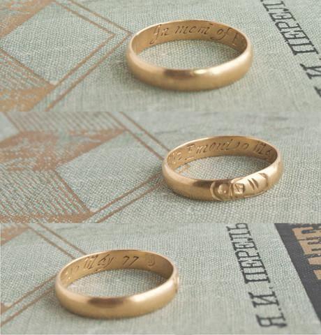 1677 Death's Head Ring