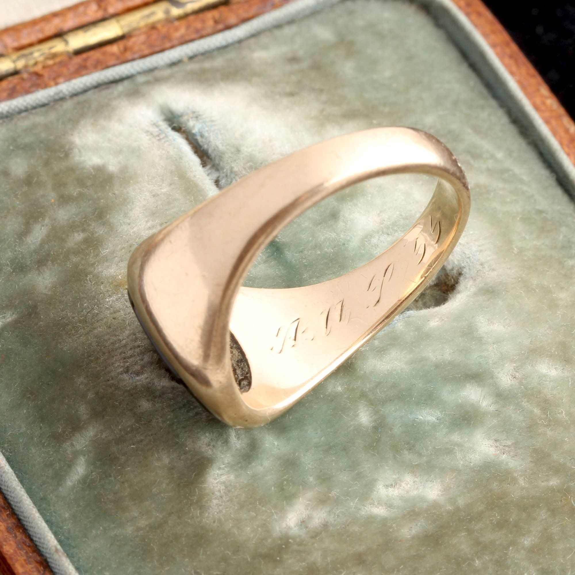 Midcentury Saint Anne's Class Ring