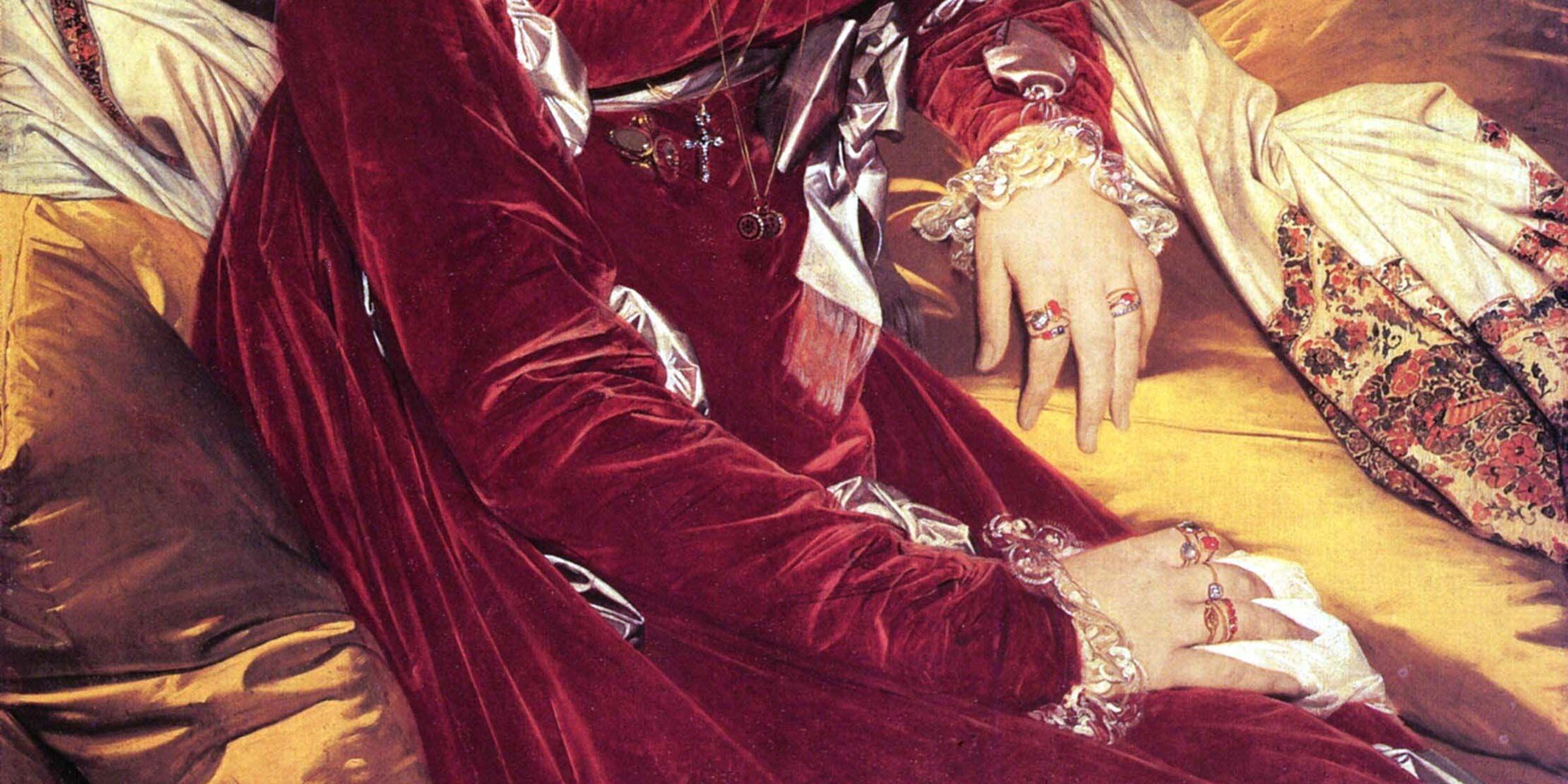 Madame de Senonnes by Jean-Auguste-Dominique Ingres, 1814.