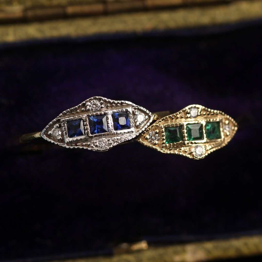 Machine Age Ring (Emerald)
