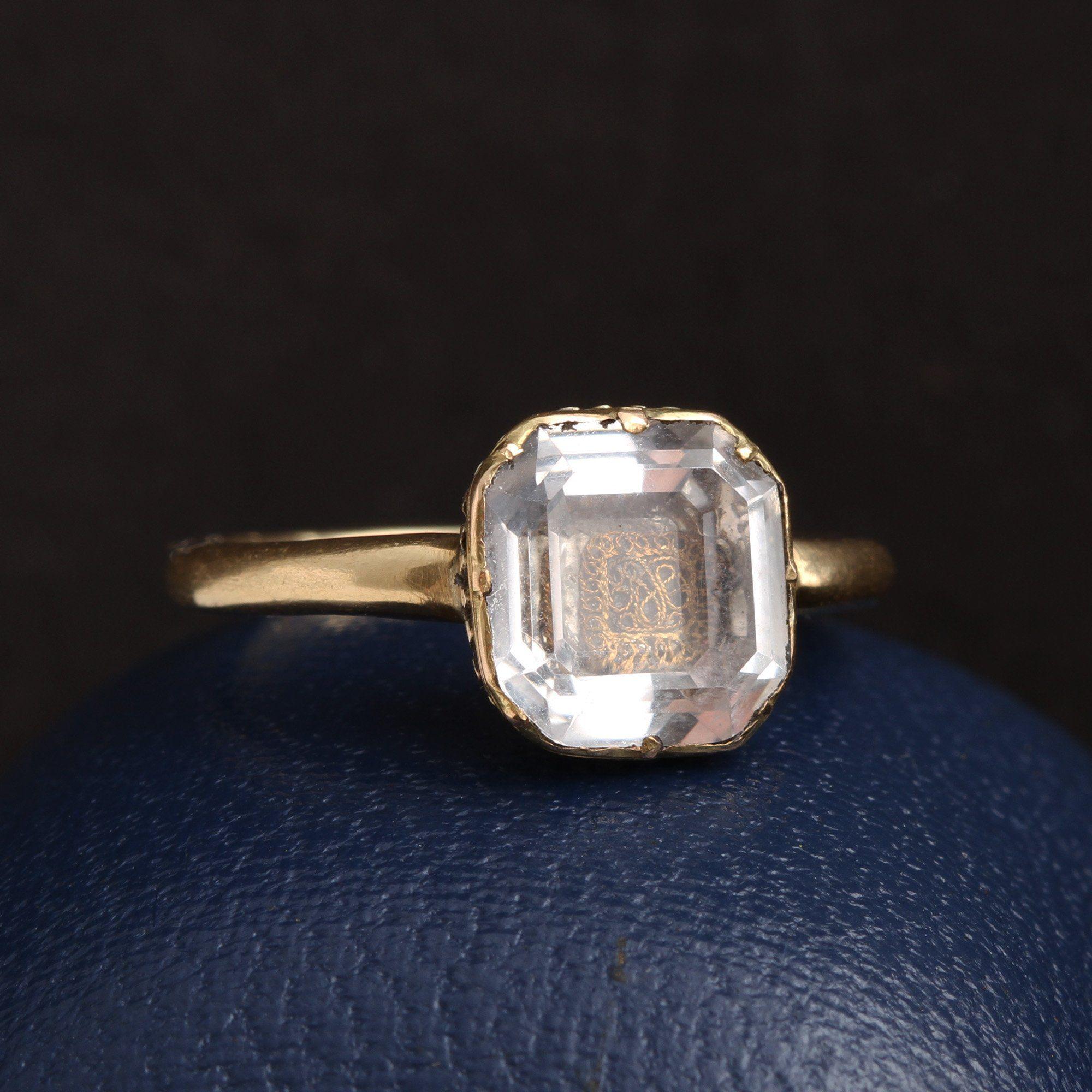 Detail of Stuart Crystal Ring