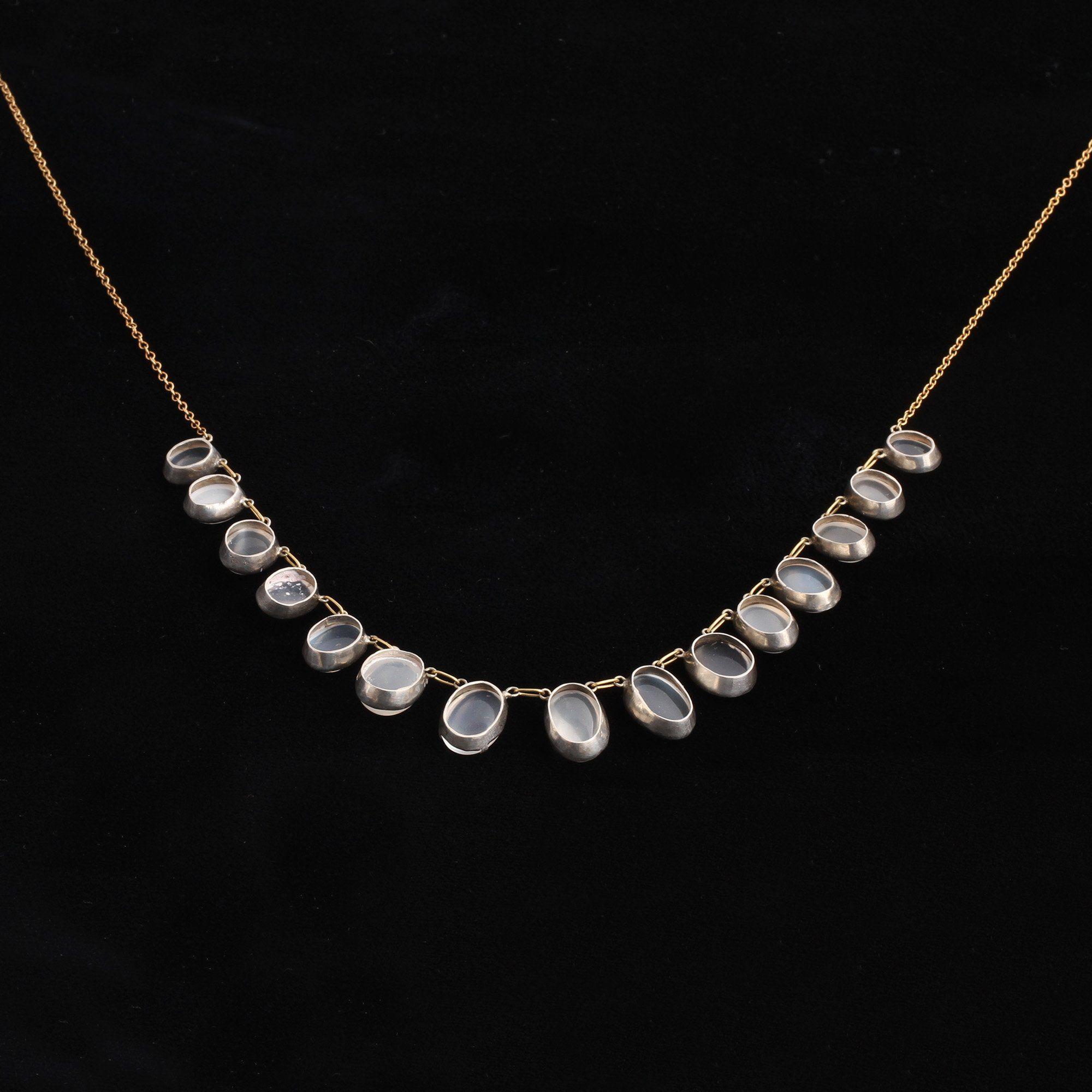 Edwardian Moonstone Necklace