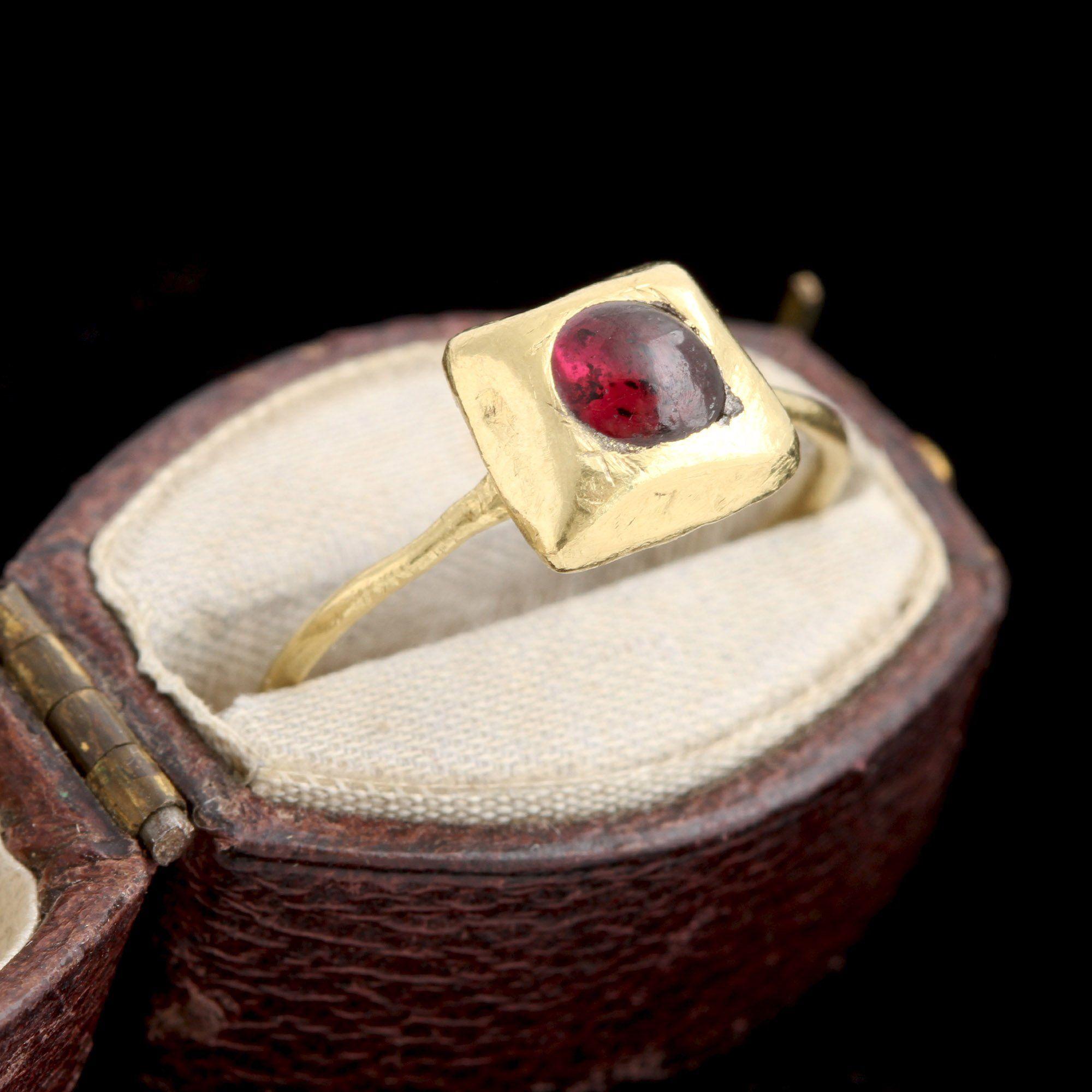 Medieval Garnet Ring