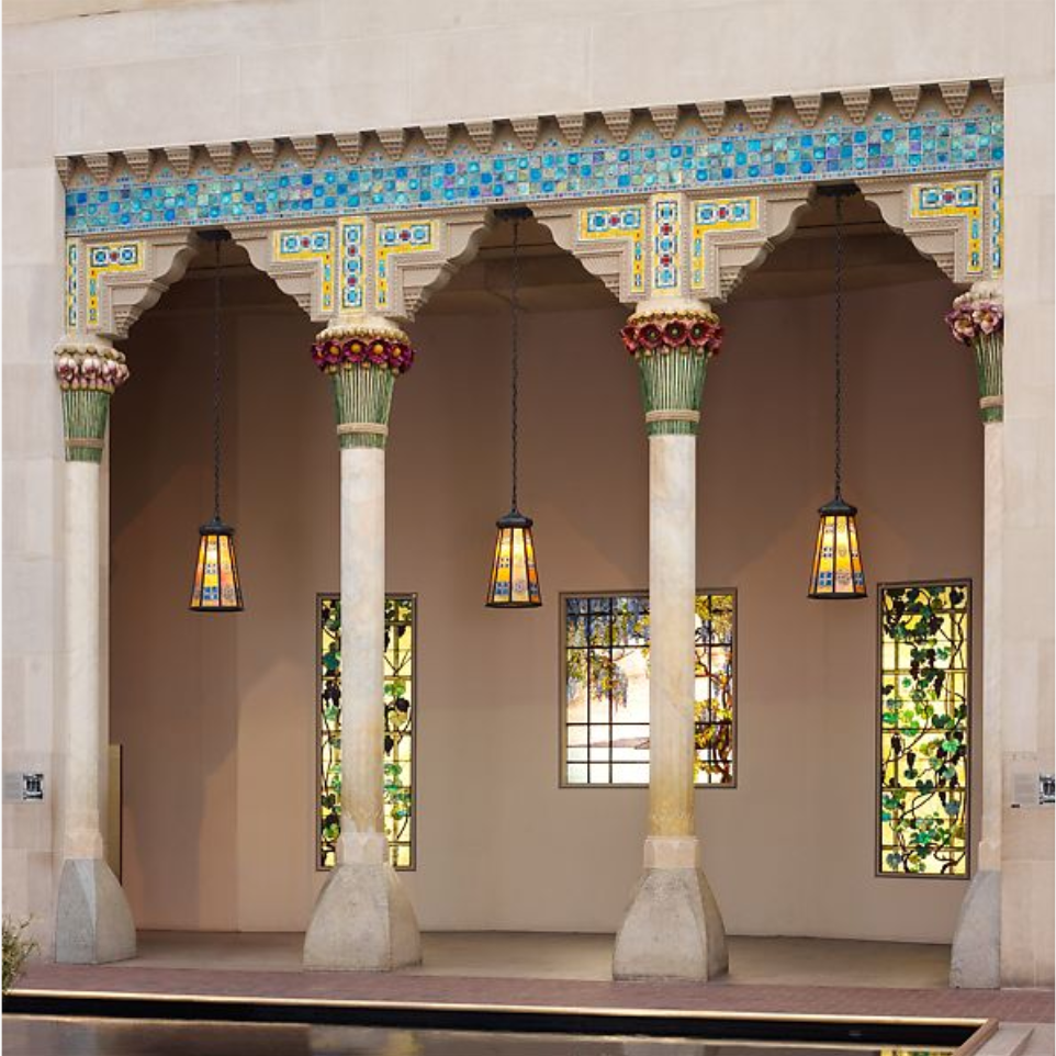 Architectural Elements from Laurelton Hall, Oyster Bay, New York ca. 1905. Designed by Louis Comfort Tiffany, American.