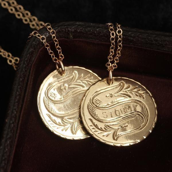 Customizable Love Token Necklace (10k)