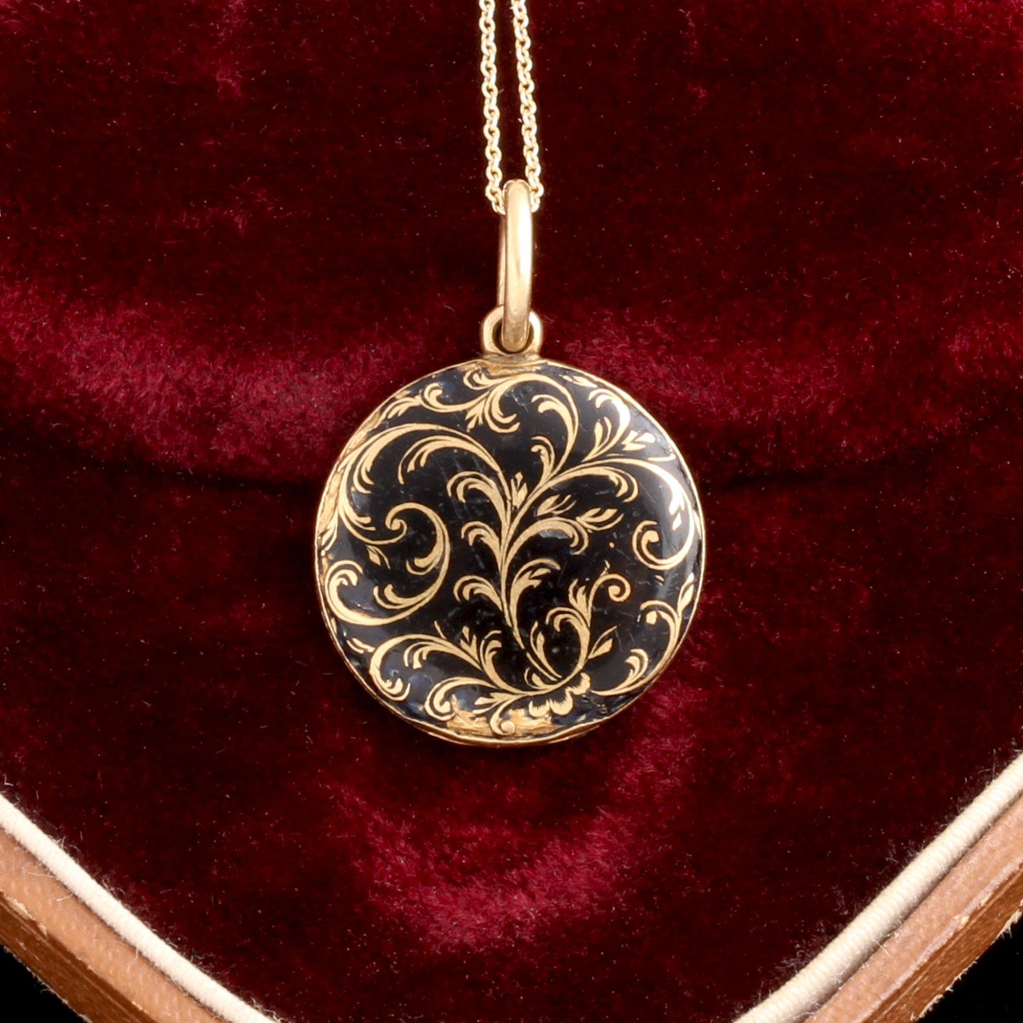 Early Victorian Mourning Locket