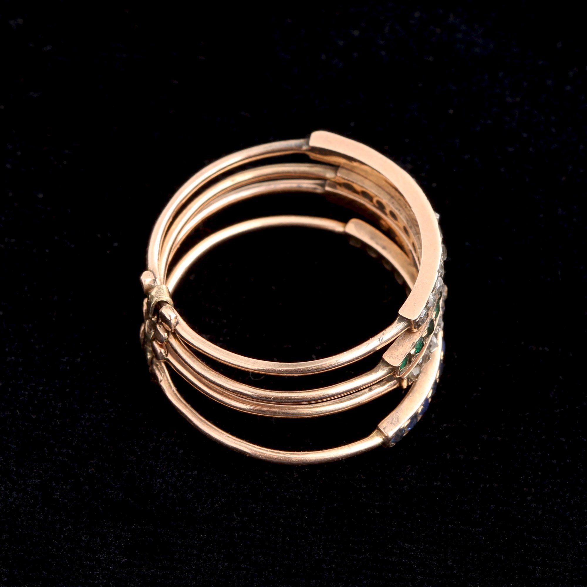 Mid 19th Century Dutch Harem Ring