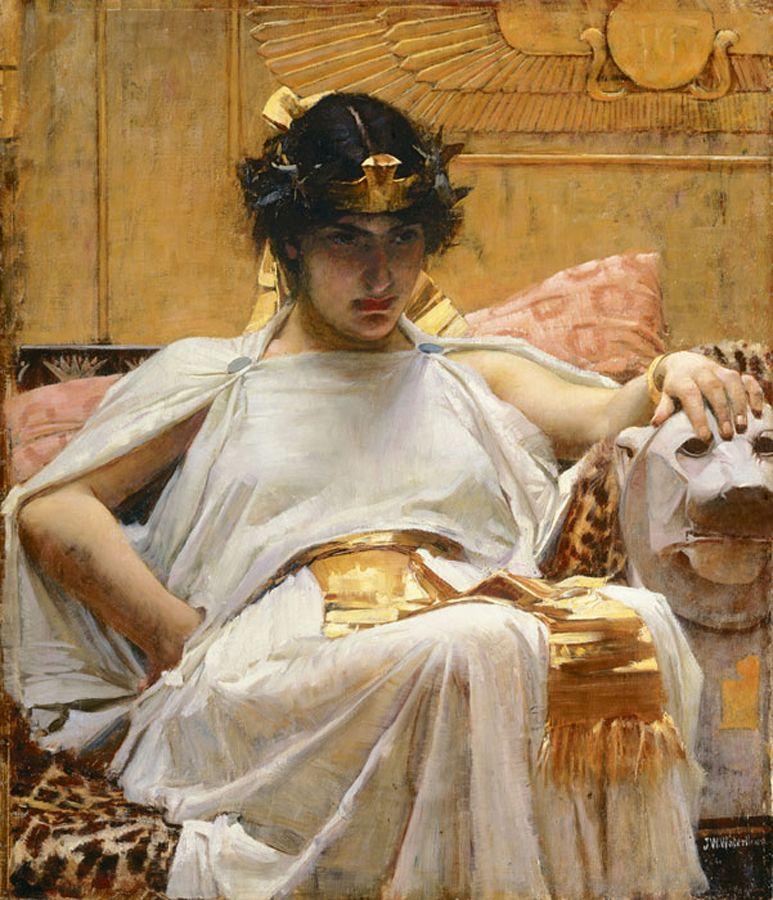 Cleopatra, John William Waterhouse, 1887.
