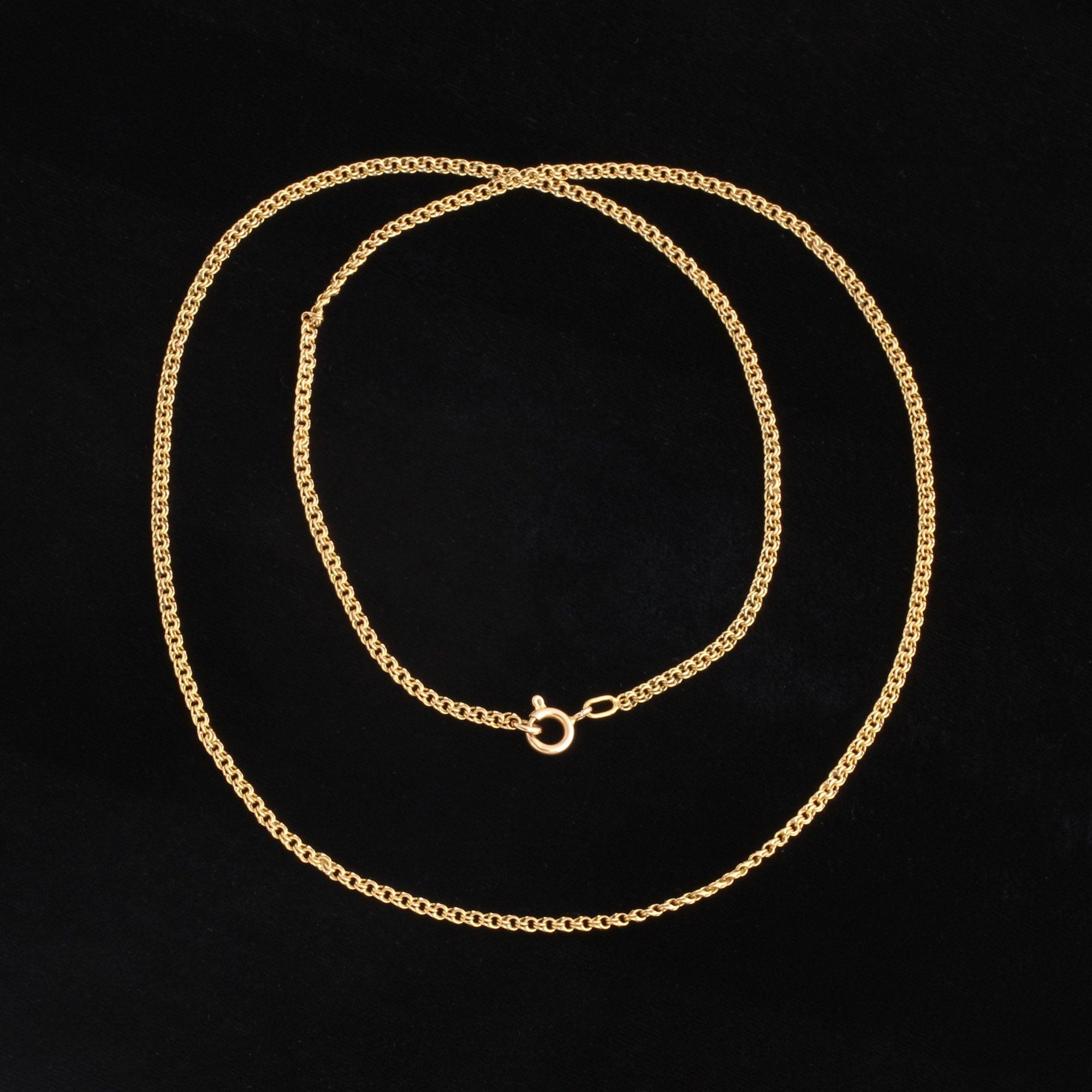 """Victorian 24"""" Double Link Cable Chain"""