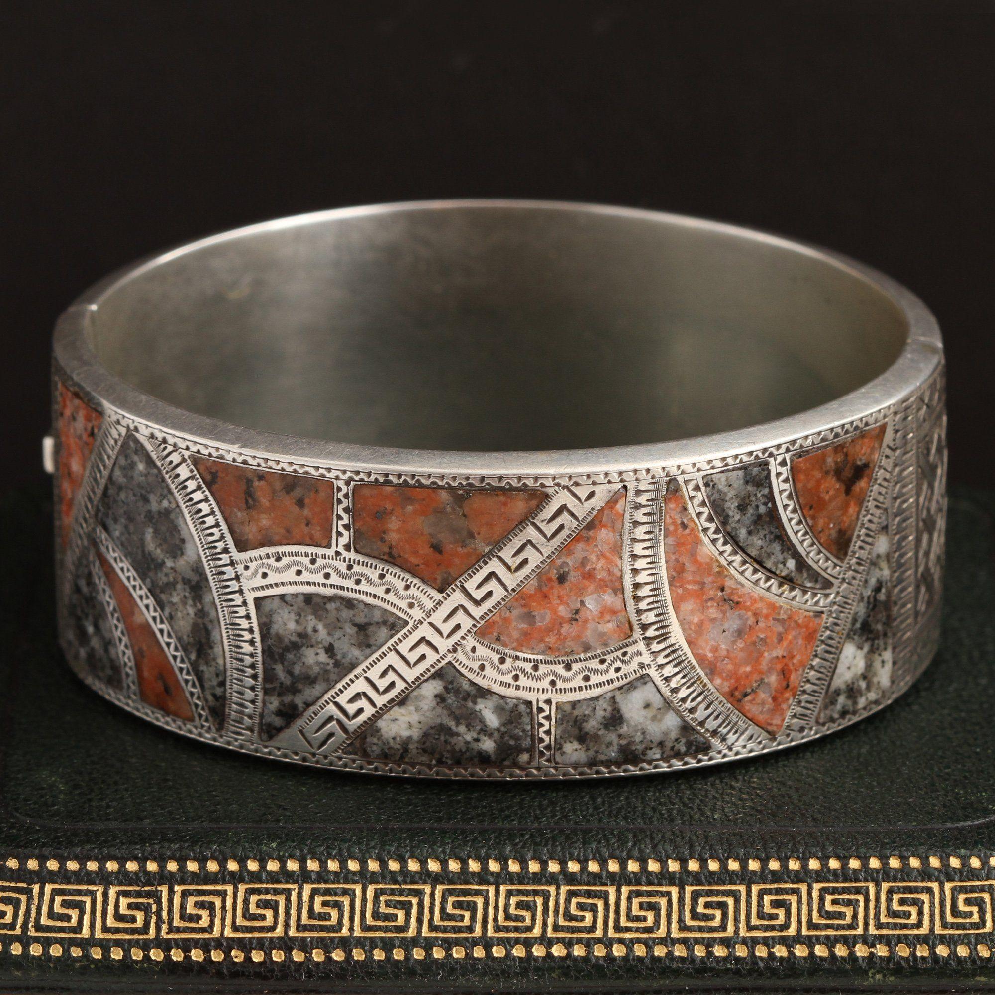 Aesthetic Aberdeen Granite Bracelet