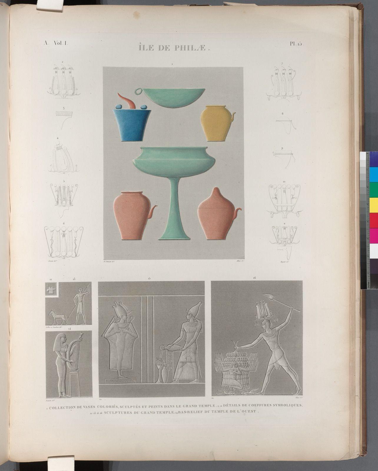 Plate from Description de l'Égypte, 1809, The New York Public Library