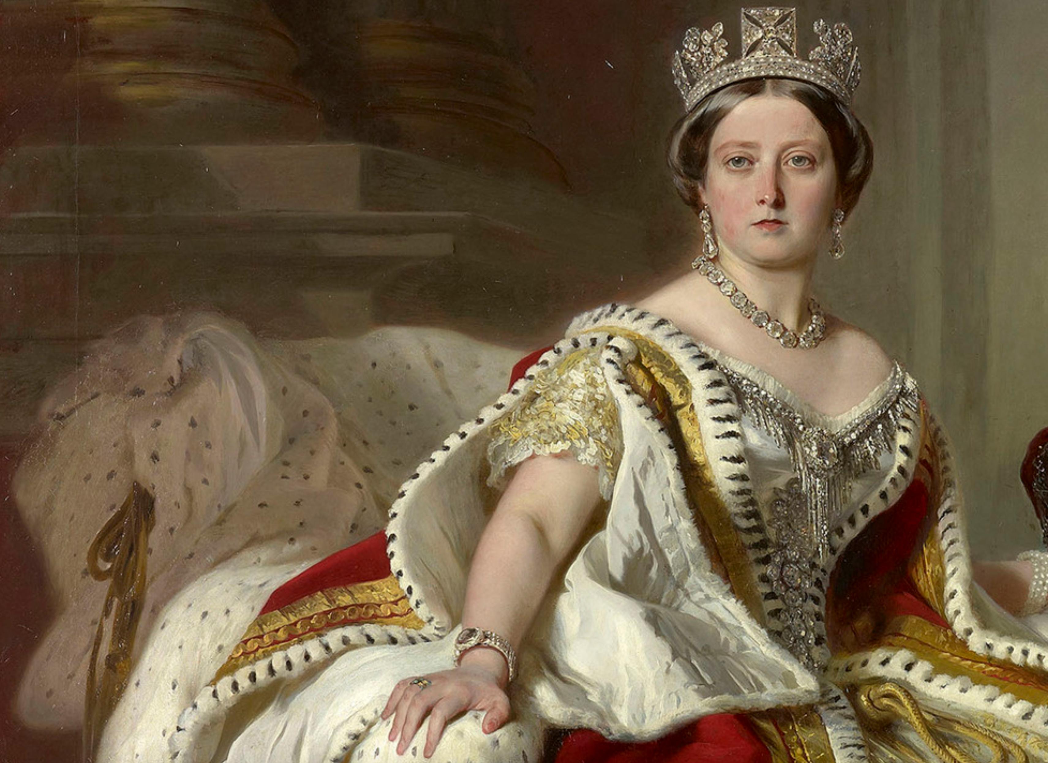 Queen Victoria, 1859, Franz Xaver Winterhalter (wearing her turquoise ring )